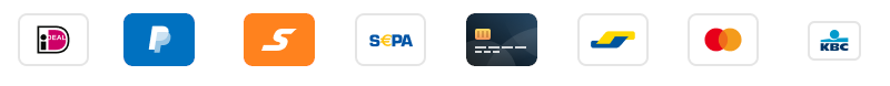 U kunt betalen met iDeal, Credit cards, vooruitbetalen en meer